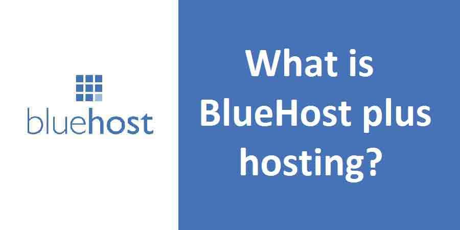 BlueHost plus hosting