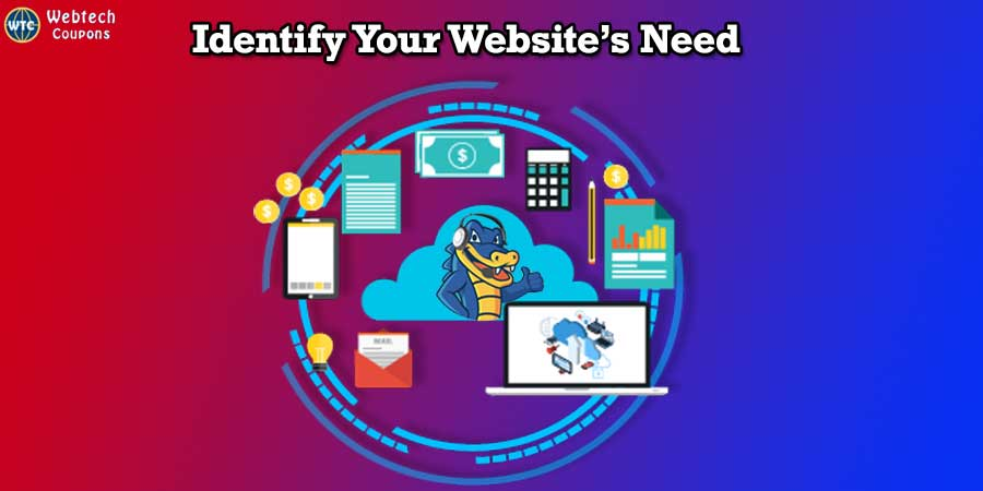 What is your Website's Need