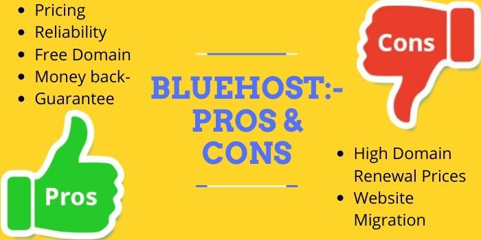 Bluehost Pros & Cons