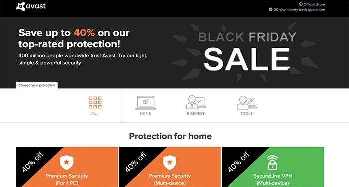 Avast Black Friday Deals