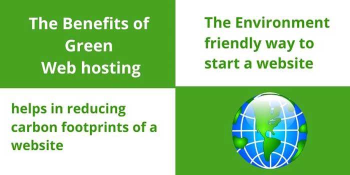 Benefits of Green Web hosting