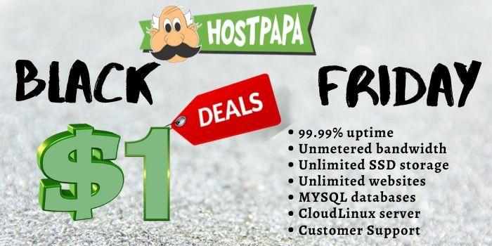 Hostpapa 1 Dollar Deal