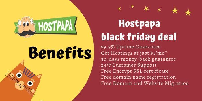 Hostpapa Black Friday Deals