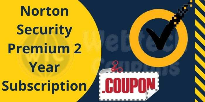 Norton 2 year Subscription