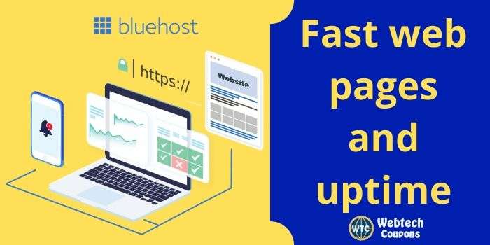 Bluehost Page Uptime