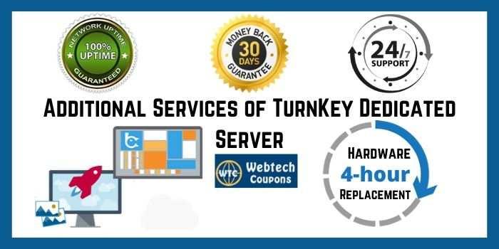 Turnkey dedicated server Coupon