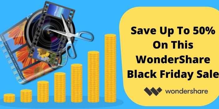 Wondershare Cyber Monday Sale