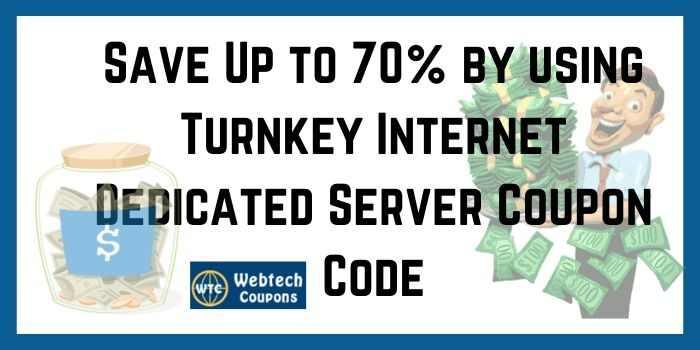 Turnkey Internet Dedicated server coupon