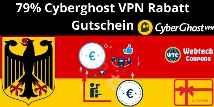 79% Cyberghost VPN Rabatt