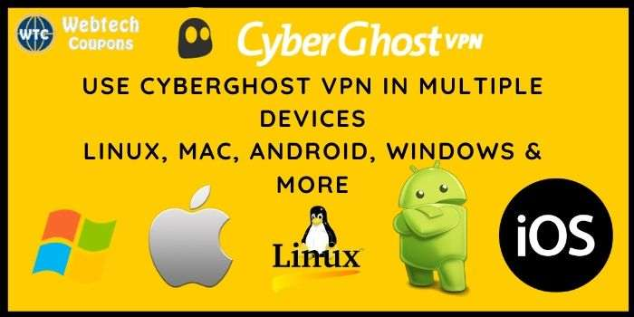 Cyberghost VPN Devices