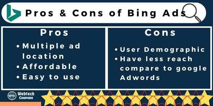 Bing Ads Pros & Cons