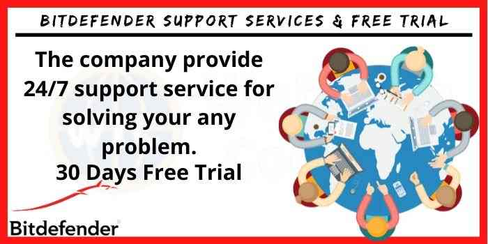 Bitdefender Support services