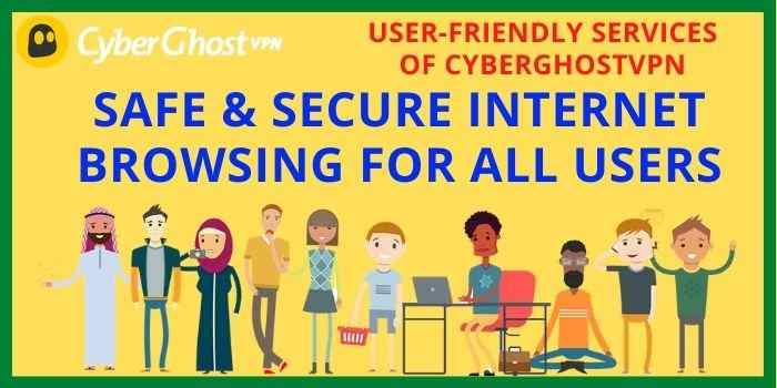 Cyberghost VPN User Friendly