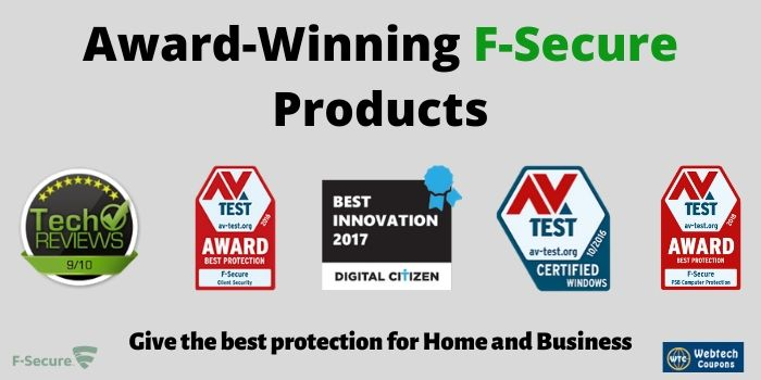 F-Secure Award Winning