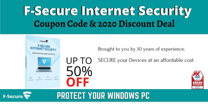 F-Secure Internet Security Coupon