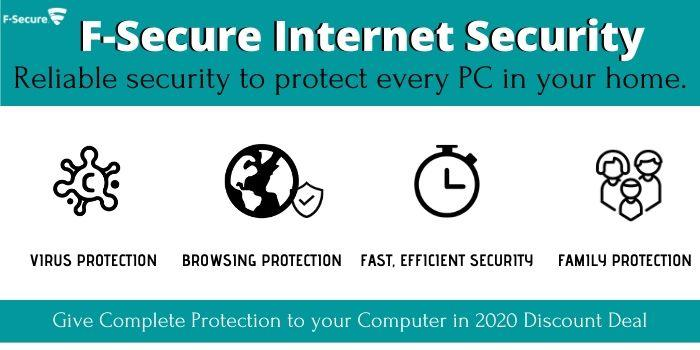 F-Secure Internet Security Features
