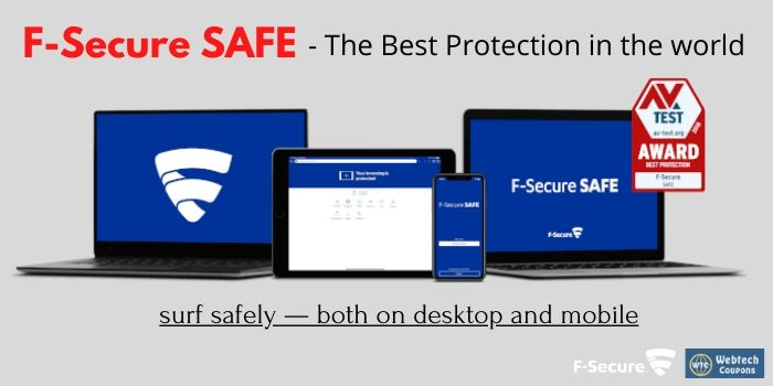 F-Secure Safe coupon code