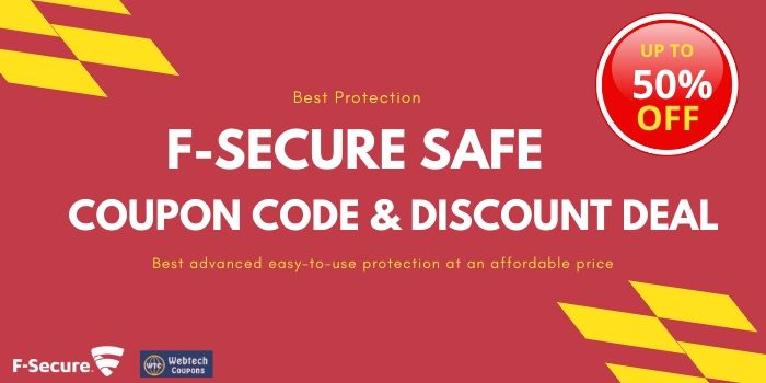 F-Secure Safe discount coupon