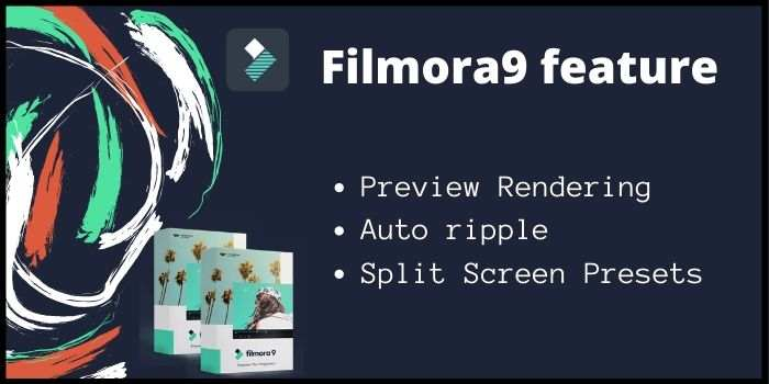 Wondershare Filmora9 features