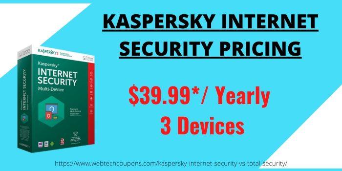 Kaspersky Total VS Internet Security- Internet Pricing
