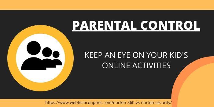 Norton 360 Parental Control