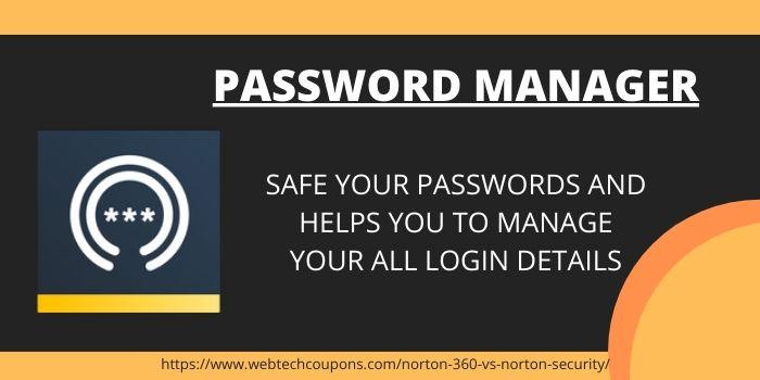 Norton 360 Password Manager