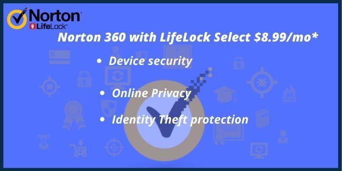 Norton 360 with LifeLock Select