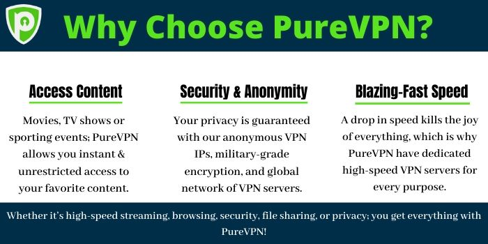 Why Choose PureVPN