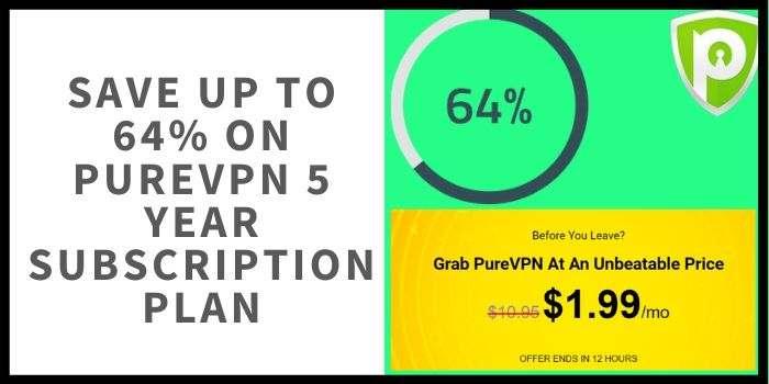 PureVPN 5 year