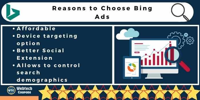 reasons to Choose Bing Ads