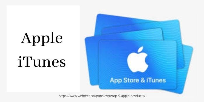 Top 5 Apple Deals- Apple iTunes