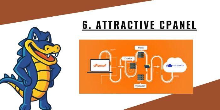 6. Attractive cPanel
