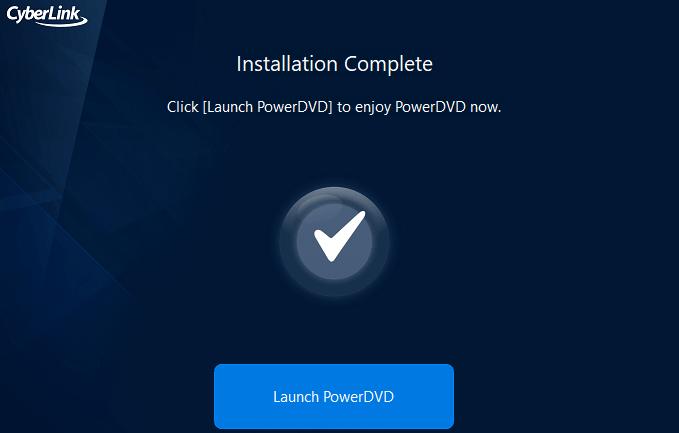 Cyberlink powerdvd installation