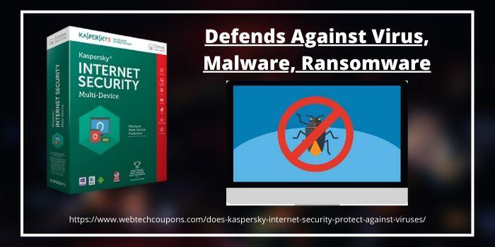 Defends Against Virus, Malware, Ransomware
