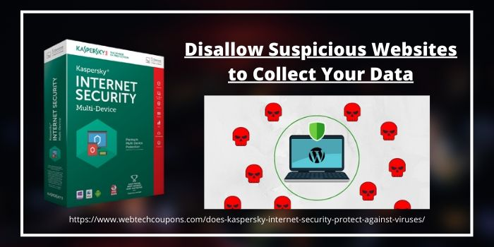 Disallow Suspicious Websites to Collect Your Data