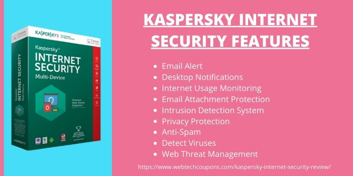 Kaspersky Internet Security Review- Features