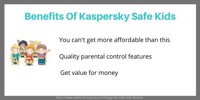 Kaspersky Safe Kids analysis