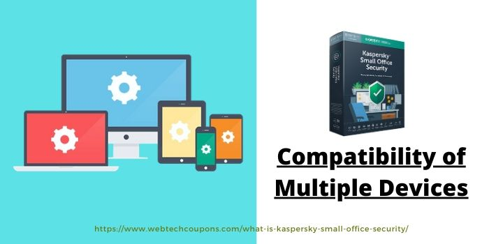 Kaspersky Small Office Security- Compatible of Multiple Devices