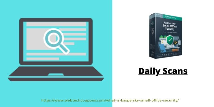 Kaspersky Small Office Security- Daily Scan
