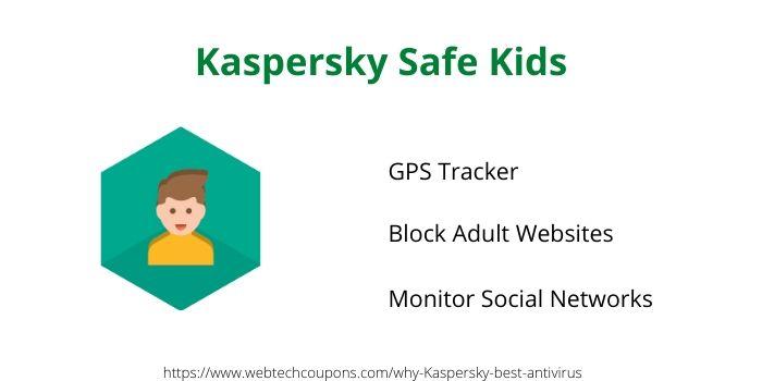 Kaspersky safe kids feature