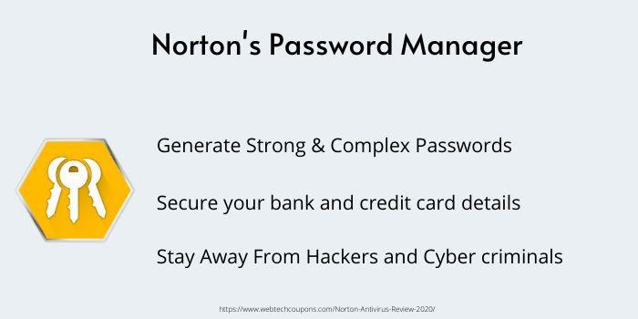 Password manager Norton