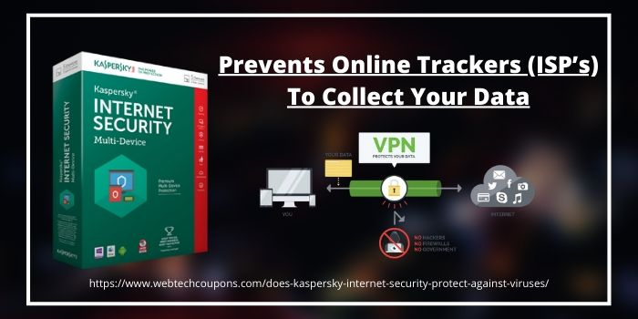 Prevents Online Trackers (ISP's) To Collect Your Data