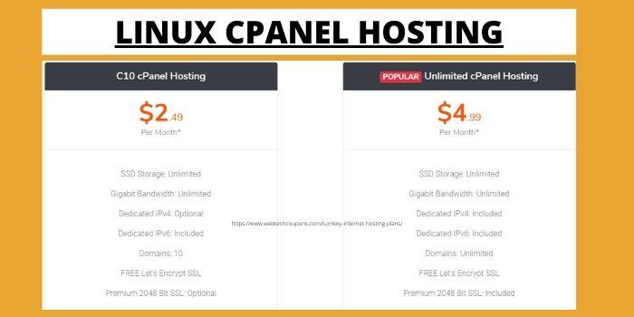 TUrnkey Internet Linux Cpanel Hosting