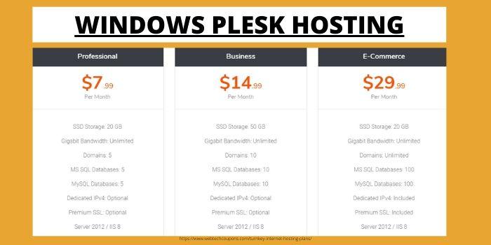 TUrnkey Internet Windows Plesk Hosting