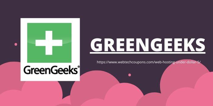 Web Hosting Under $5- GreenGeeks