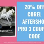 20% OFF COREL AFTERSHOT PRO 3 COUPON