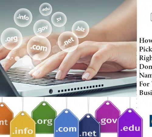 how to pick Domain name