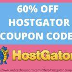 60% off hostgator promo code