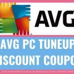 AVG PC TUNEUP DISCOUNT COUPON