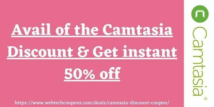 Camtasia Coupon and Discount